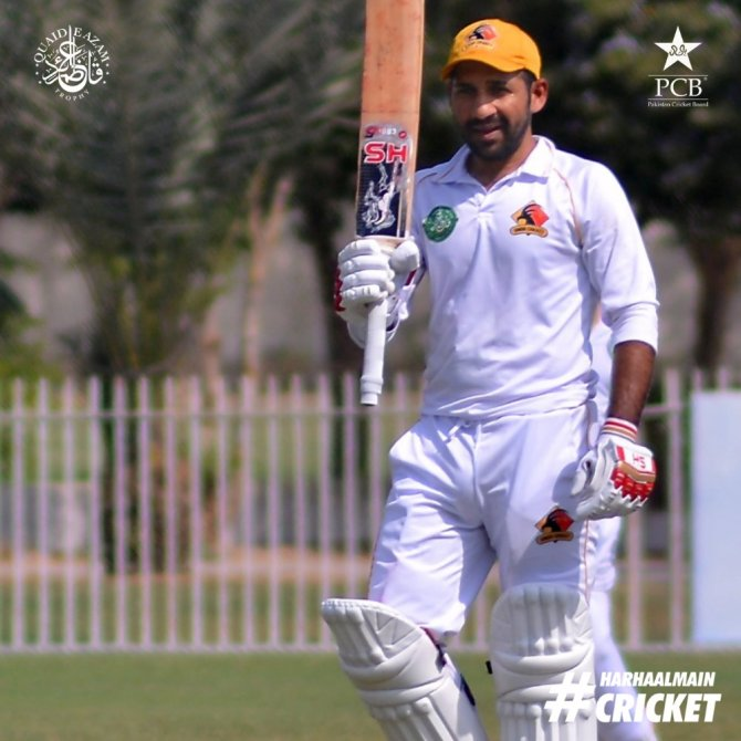 Tabish Khan said Sarfaraz Ahmed is an absolute beauty after his knock of 131 in the Quaid-e-Azam Trophy