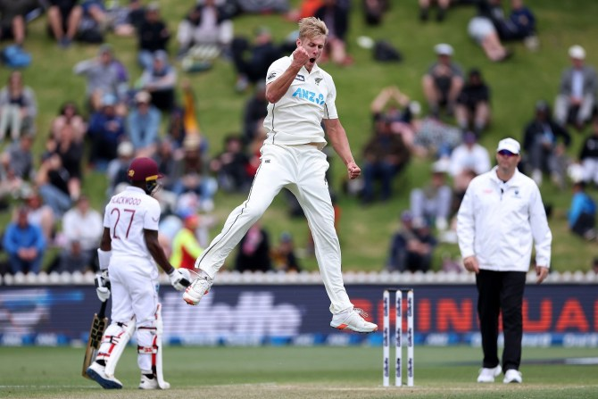 New Zealand head coach Gary Stead warned Pakistan about Kyle Jamieson saying he's coming to get you