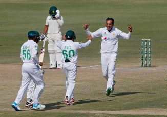 Yasir Arafat wished Nauman Ali and Imran Butt all the best in their Test careers