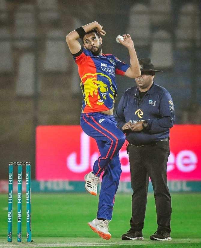 Imad Wasim said he hopes Mohammad Rizwan flops against the Karachi Kings