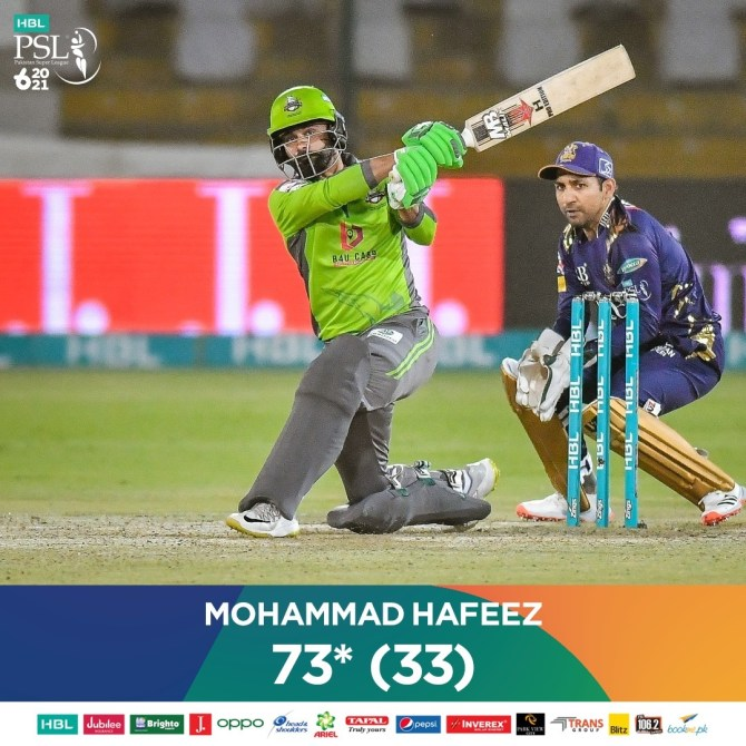 Mohammad Hafeez said he doesn't have muscles like Chris Gayle