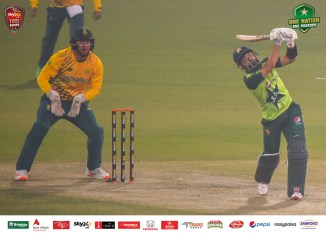 Pakistan wicketkeeper-batsman Mohammad Rizwan said apparently he can't hit sixes after blasting 10 in the T20 series against South Africa