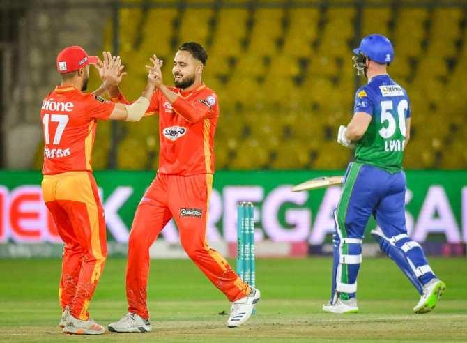Faheem Ashraf said players tease Shadab Khan after he scolds them