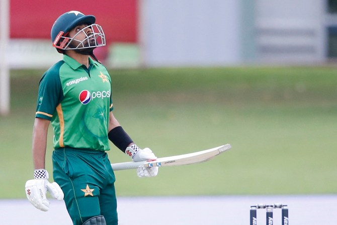 Pakistan captain Babar Azam said his father still scolds him if he performs badly