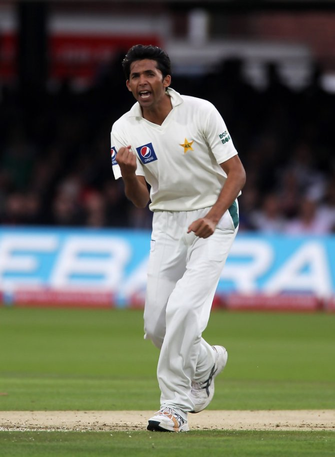 Mohammad Asif said Matthew Hayden and Adam Gilchrist were formidable opponents