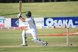 Pakistan spinner Nauman Ali said he is performing well with the bat