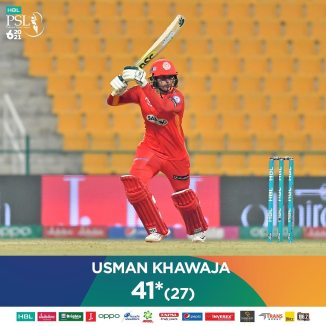 Usman Khawaja said he has heard great things about Shadab Khan's captaincy
