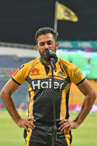 Wahab Riaz said Haider Ali has been outstanding while batting lower down the order