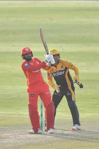 Pakistan big-hitter Asif Ali said he only gets a few overs to play