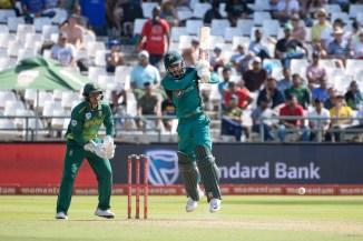 Ramiz Raja said Shadab Khan would have more value as a power-hitter