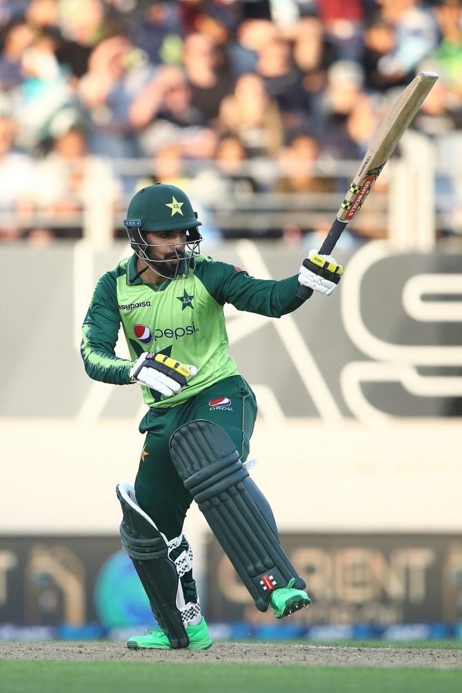 Ramiz Raja said Shadab Khan's batting is going through a rusty period