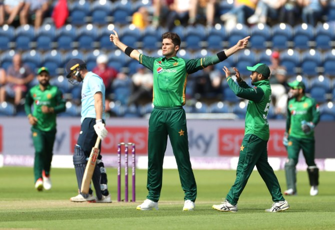 Inzamam-ul-Haq said Shaheen Shah Afridi is at risk of becoming predictable