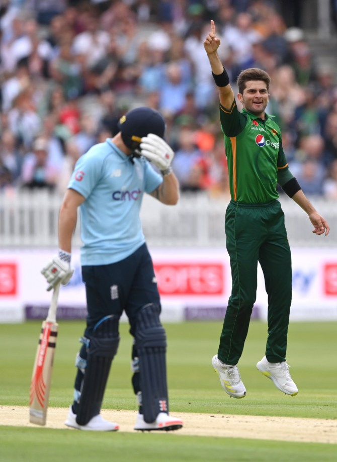 Inzamam-ul-Haq said what a good bowler Shaheen Shah Afridi is