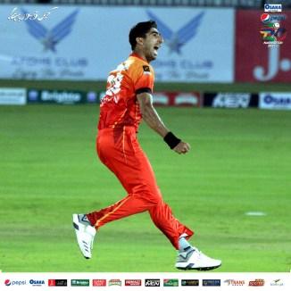 Pakistan pace bowler Shahnawaz Dahani said Sarfaraz Ahmed is leading from the front as Sindh captain
