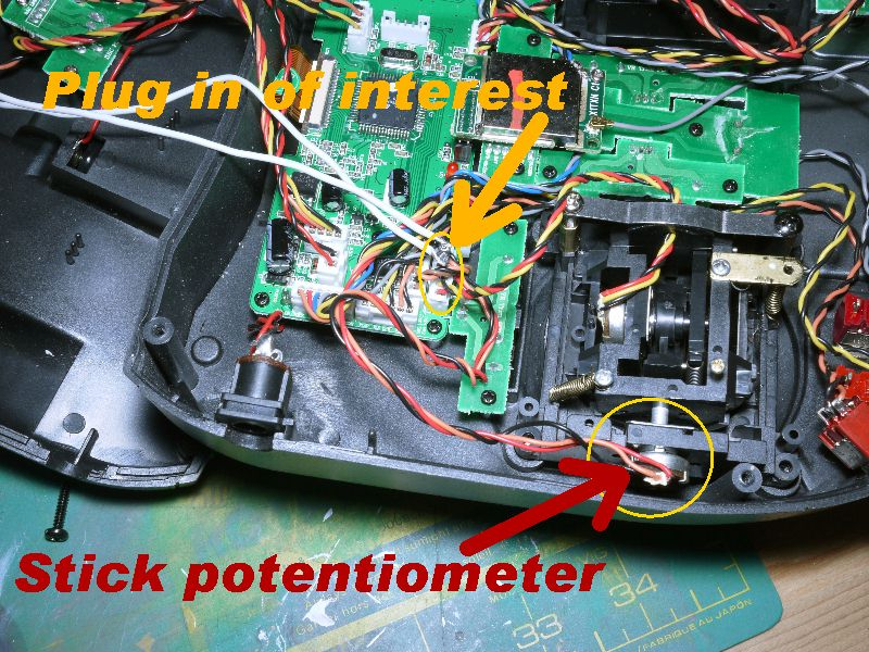 Wiring a Fire button on to a DX6I TX  Battle Armor RC