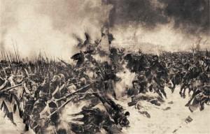 'The Battle of Eylau' L. Flameng