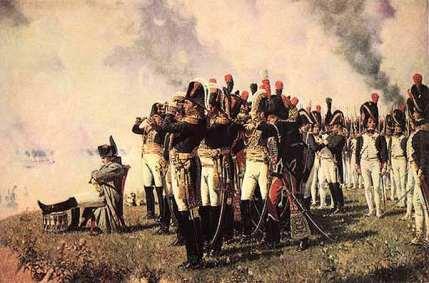 Napoleon at the Battle of Borodino (Painting by Veretchaguine) Bibliothéque Nationale-Paris.
