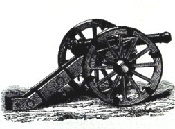 Early eighteenth century cannon