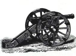 Early eighteenth century cannon