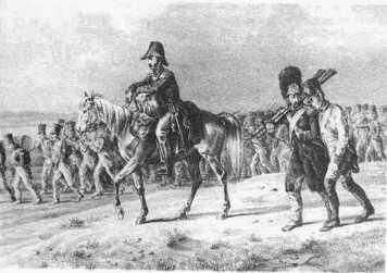 Italian Grenadier helping an exhausted companion. July 1812 (Faber du Four) Musée de l'Armée- Paris
