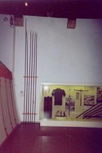 Swiss pikes. Grandson Museum