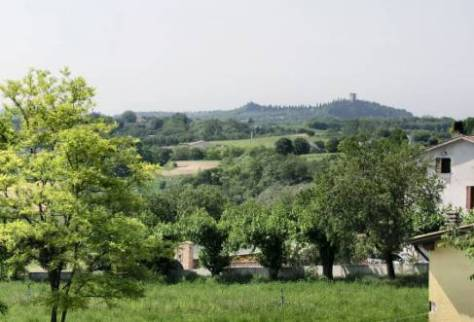 View of Solferino from Cavrina