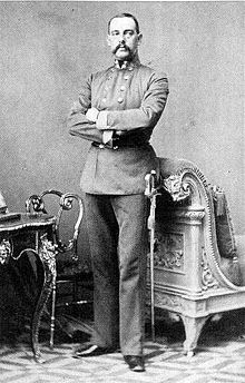 Archduke Leopold of Austria.