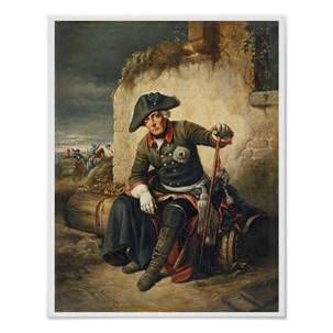 What went wrong? A dejected Frederick after the battle of Kolin.