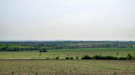 View from Zoran hill- West ending at Prazen Heights