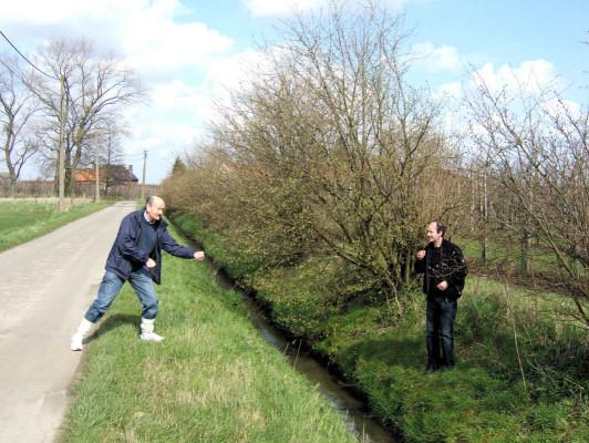 (D) Diepenbeek - front line of the battle.