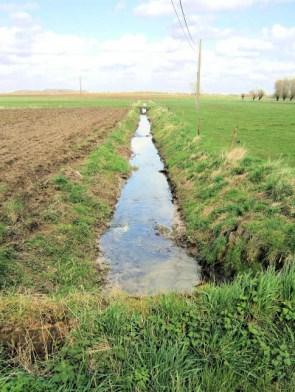 (F) Marollebeek - looking east and south.