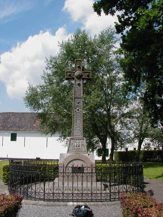 Photograph No2 The Celtic Cross in Fontenoy