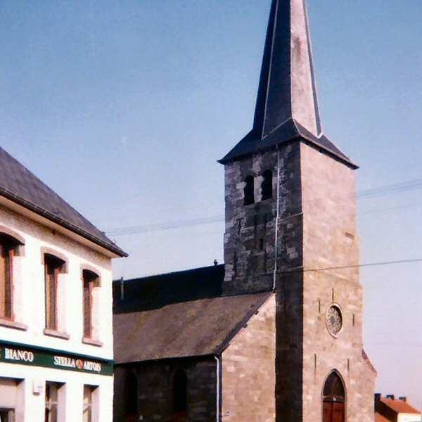 The church at St Amand.
