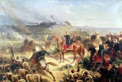Napoleon III at Solferino ( Mary Evans Picture Library)