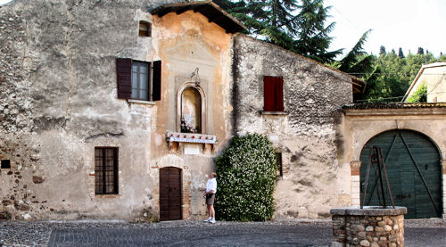 An old part of Solferino.