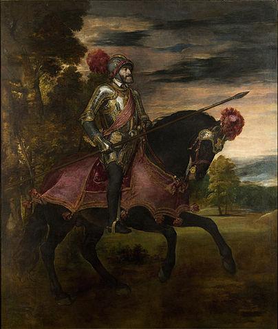 Charles V via Wiki Commons
