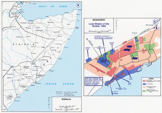 Battle of Mogadishu, Somalia - 1992