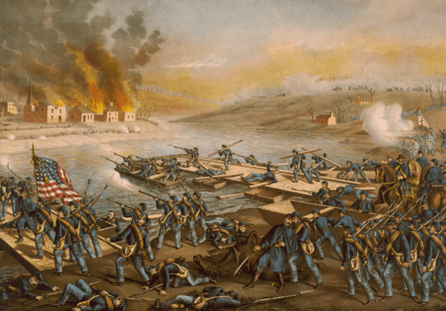Battle of Fredericksburg 13 December 1862
