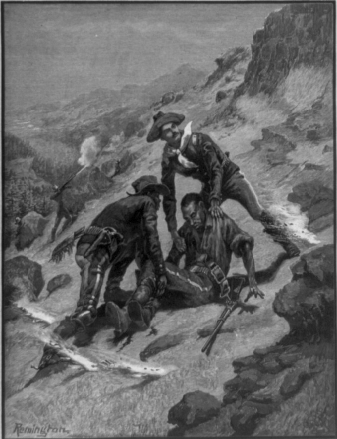 Soldiering in the southwest, the rescue of Corporal Edward Scott
