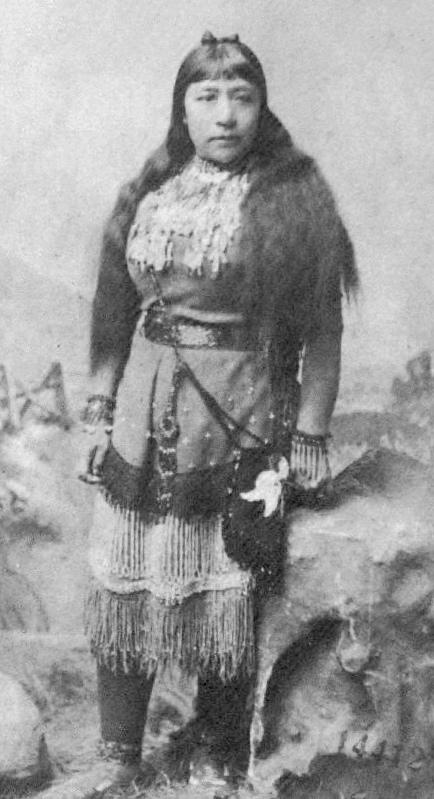 Sarah Winnemucca in traditional dress