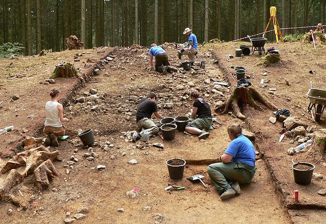 Roman Battlefield Archaeology Battle Harzhorn site