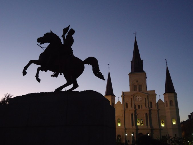 Statue of Andrew Jackson at New Orleans