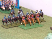 Grenouissian hussars clash with the Dengie Dragoons
