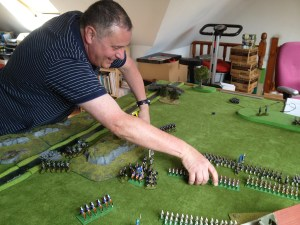 Iain Burt moves his troops