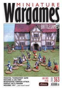 Miniature Wargames with Battlegames issue 363 front cover