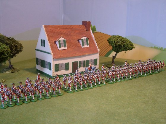 "Regiment von Eintopf in its original, full ""Charge!"" organisation, as created for the recreation of Sittangbad back in 2006."