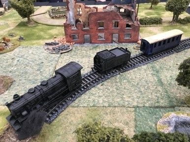 Forest Outlaws staged a 28mm Bolt Action game.