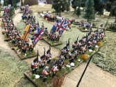 The Battle of Brooklyn 1776 by North Hull Wargames Club in 15mm.