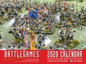 The Battlegames Calendar 2020