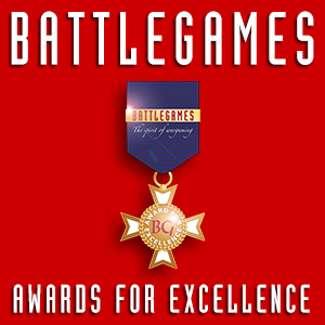 Battlegames Awards for Excellence logo